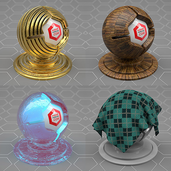 Redshift Materials C4D Cinema4D